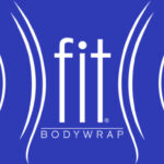 fit bodywrap white on blue logo