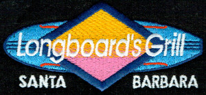 Longboard's Grill Embroidery