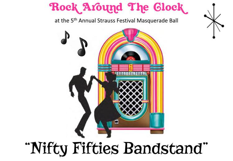 Nifty Fifties Bandstand Masquerade Ball~Oct 19, 2019