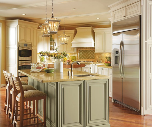 off_white_cabinets_with_glaze_traditional_kitchen