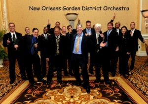 Jazz Orchestra; the New Orleans Garden District Orchestra