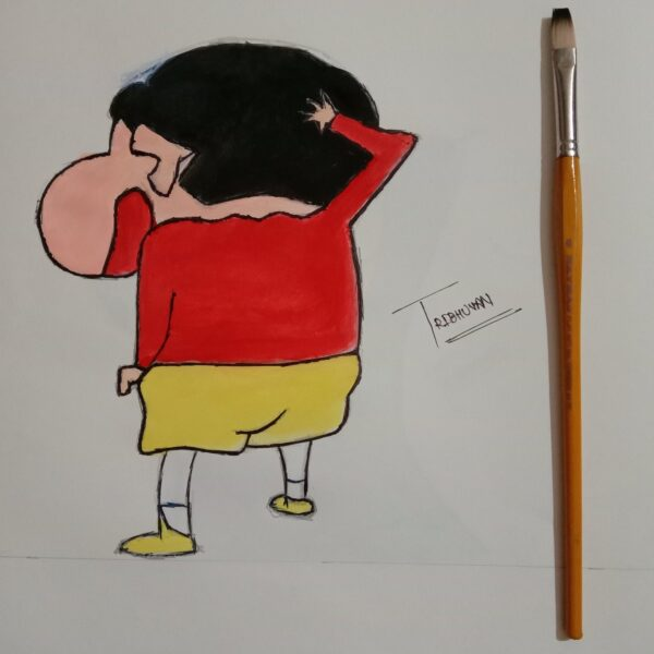 Cartoon Art by Tribhuvan