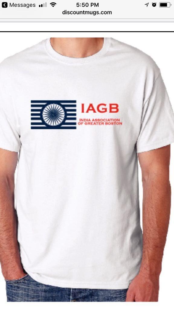 India Day Festival 2018 - IAGB T Shirt