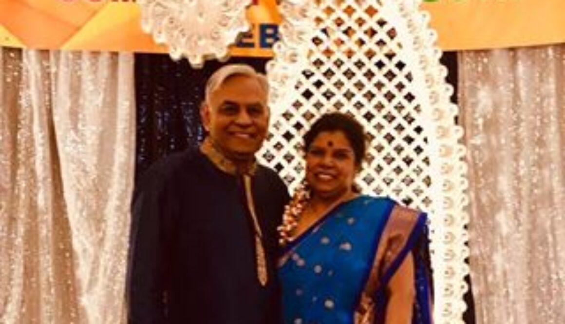 Anil and Ranjani Saigal