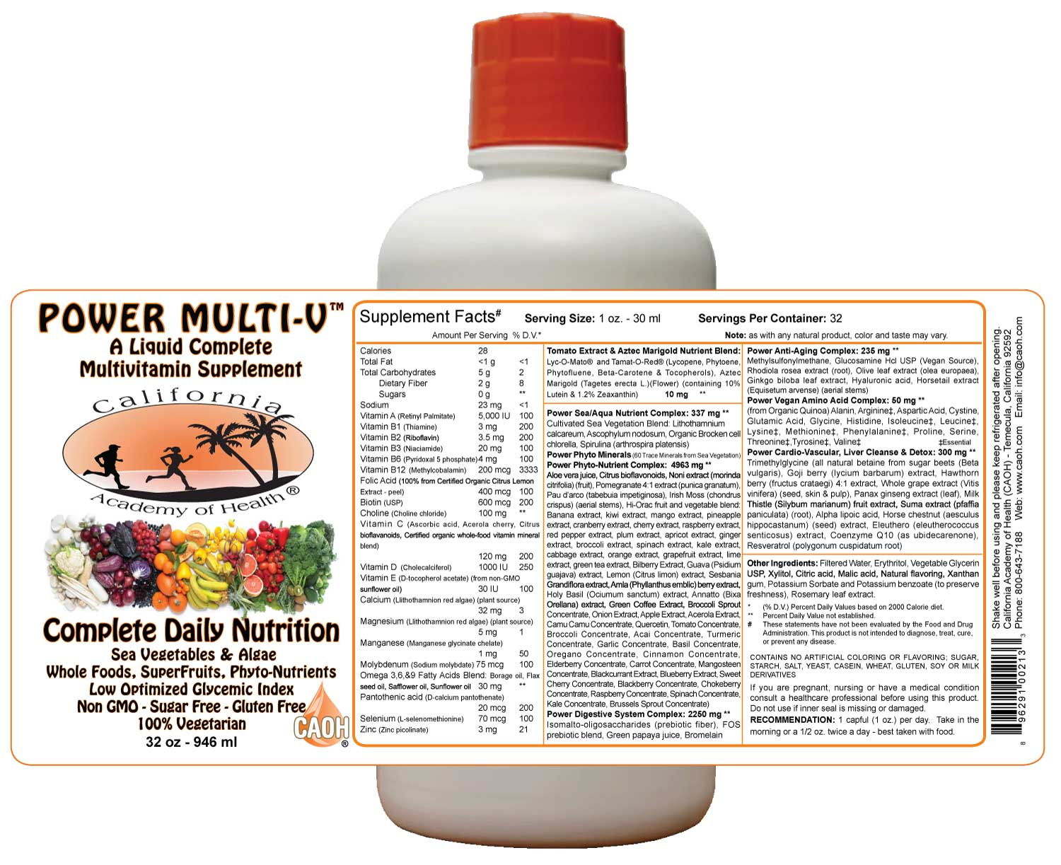 CAOH Liquid Power MultiVitamin