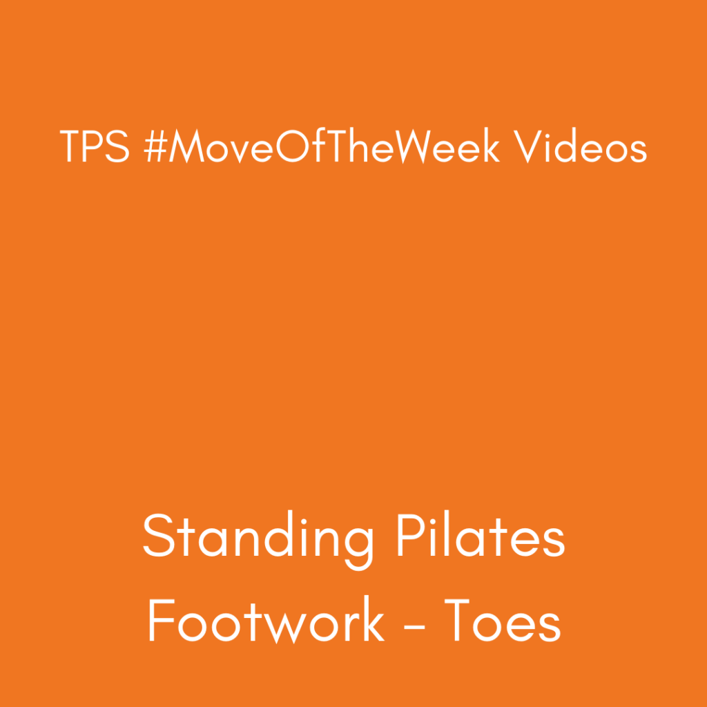 Standing Pilates - Toes