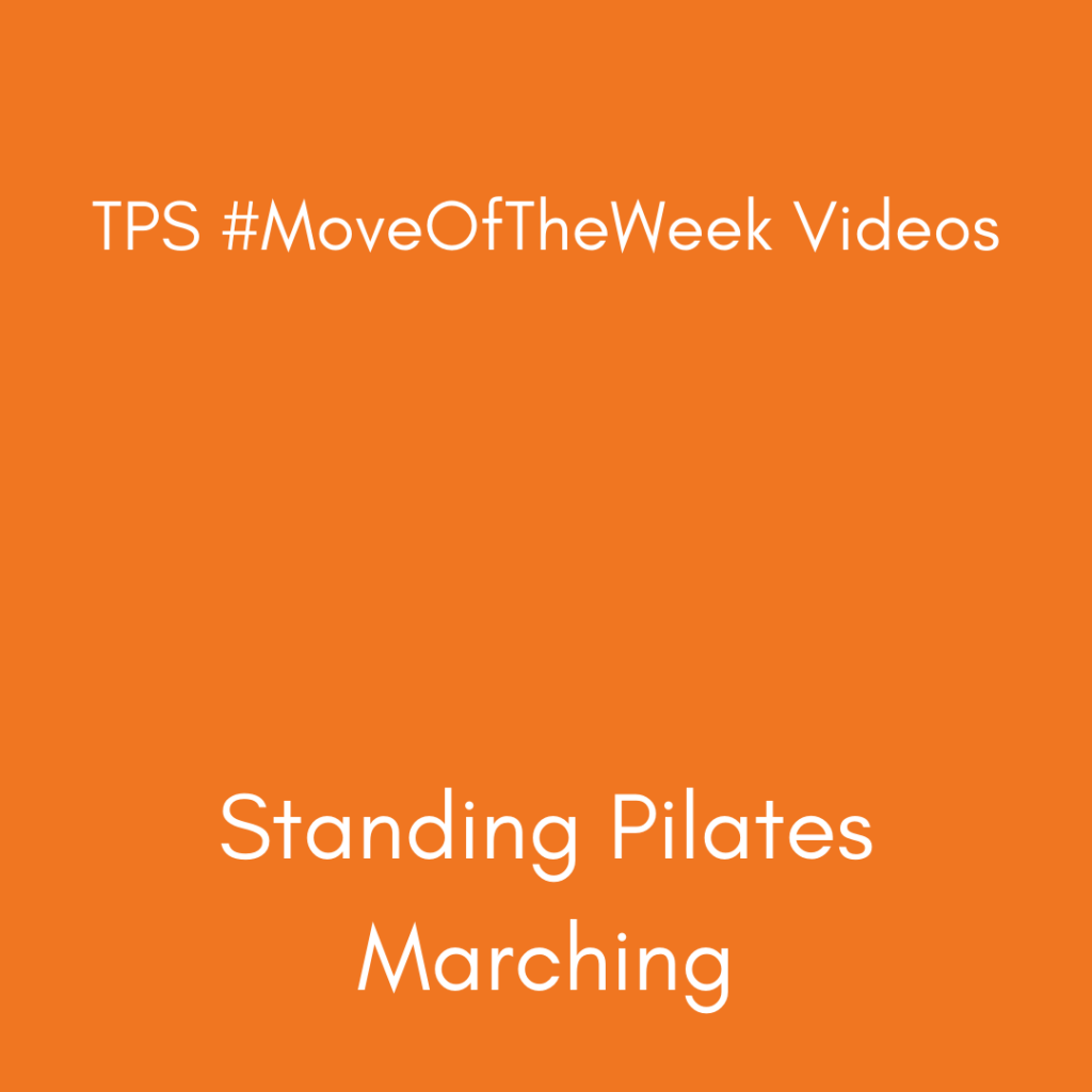 Standing Pilates Marching
