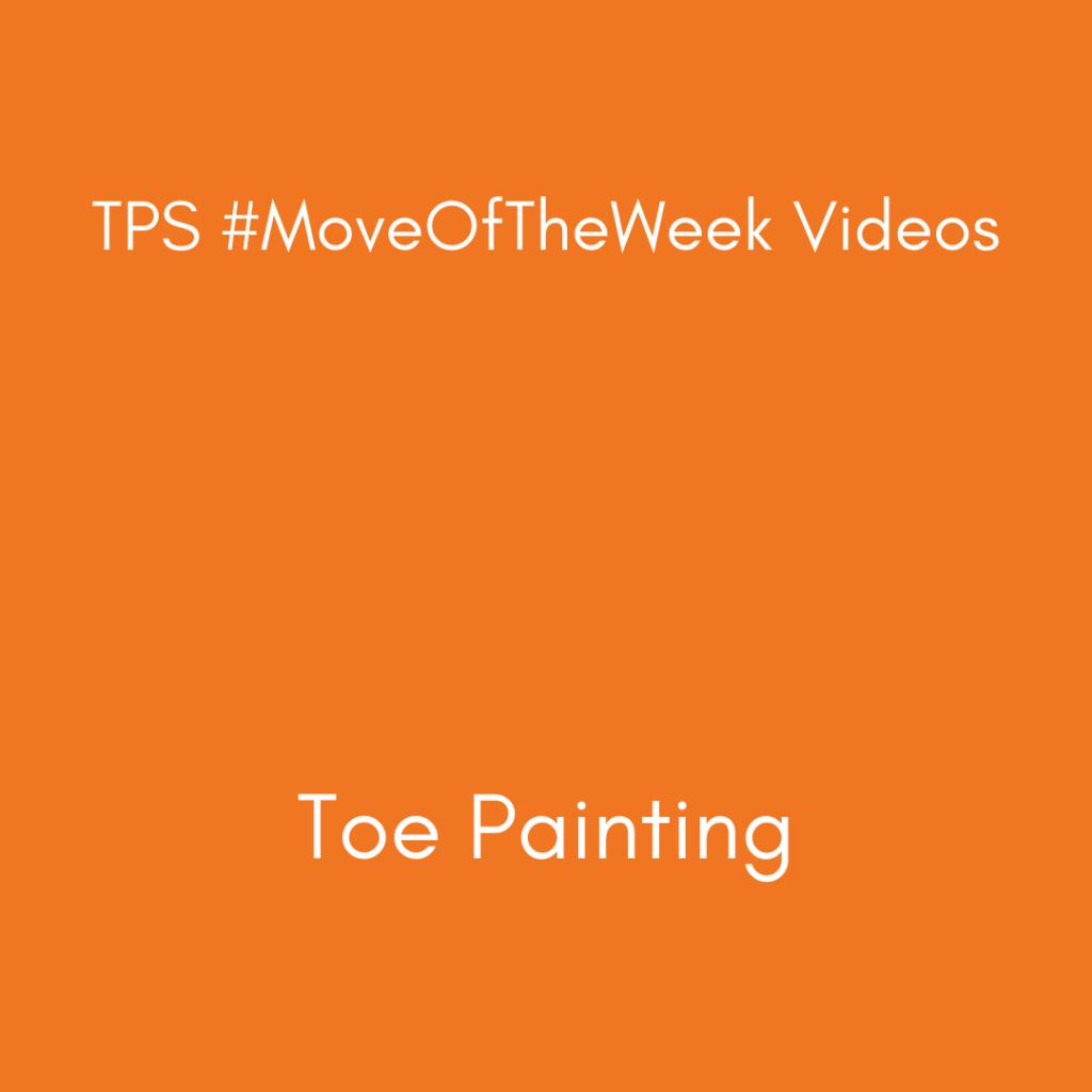 Toe Painting