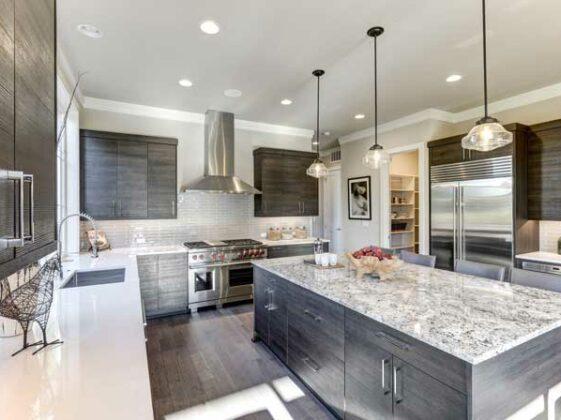 Modern-gray-kitchen
