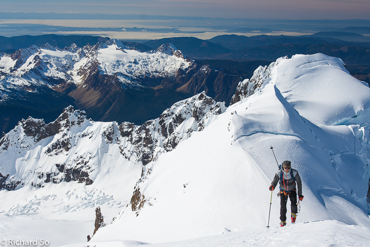 Mount Baker – Coleman Deming Route