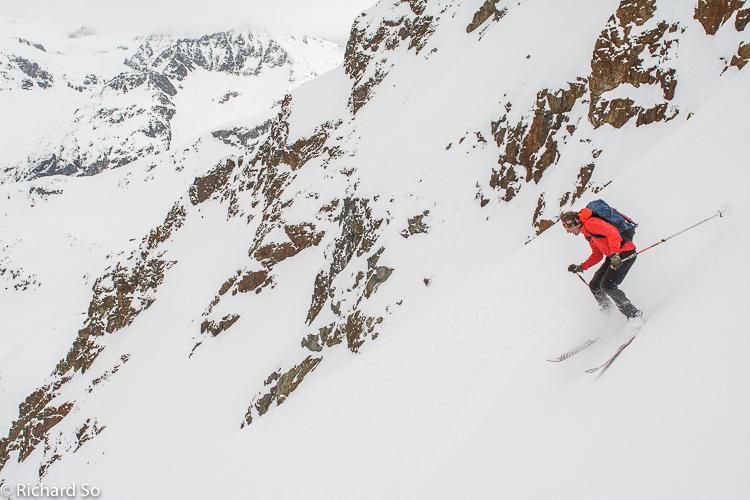 Fissile Peak – Northwest Face and Banana Chute