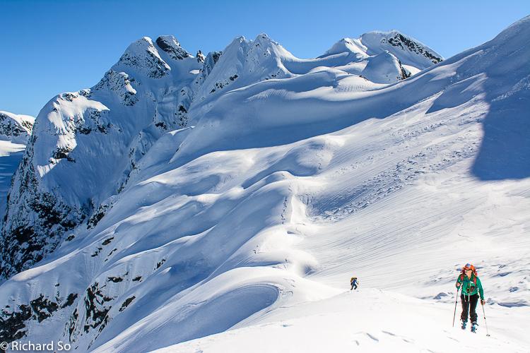 Tricouni Peak and Cypress Peak Winter Ski Tour