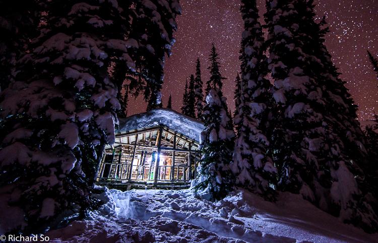 Lizzie Creek Hut New Years Ski Trip