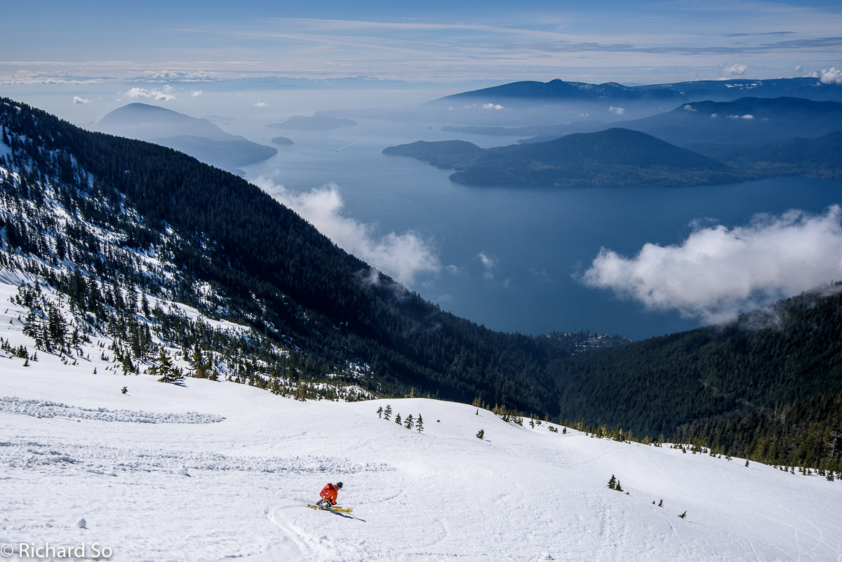 Howe Sound Crest Trail Ski Tour