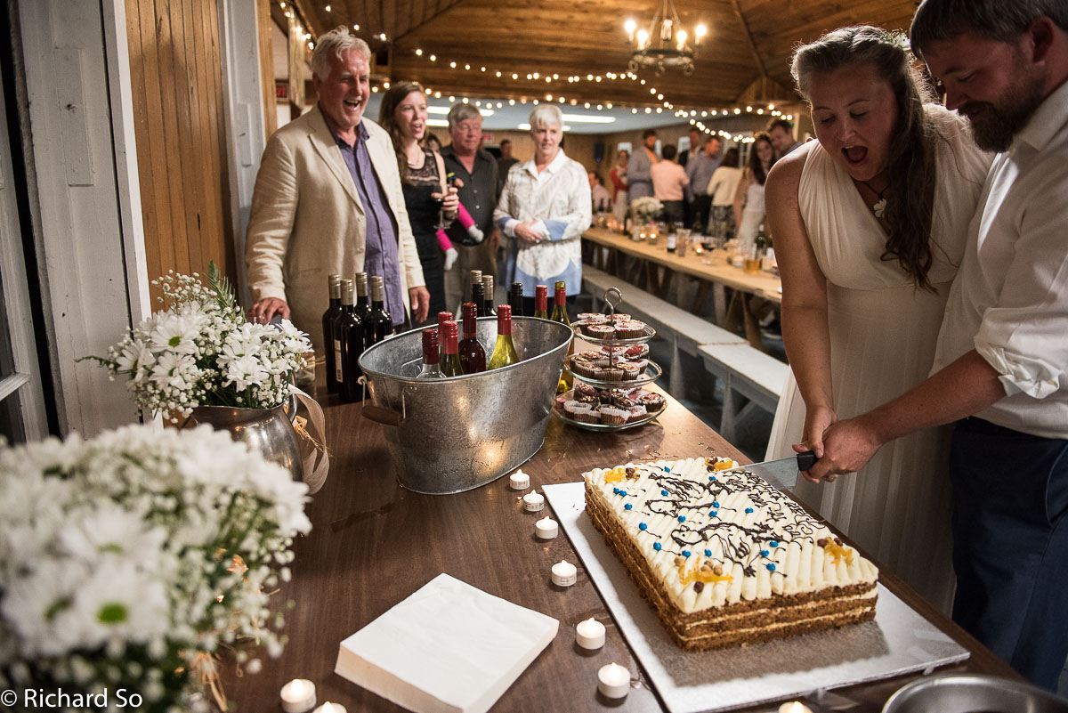Dan and Ellen's Gambier Island Wedding