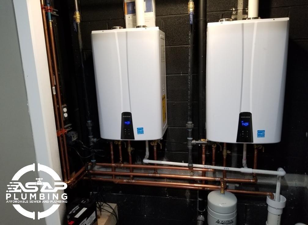 Tankless Water Heater Plumbing