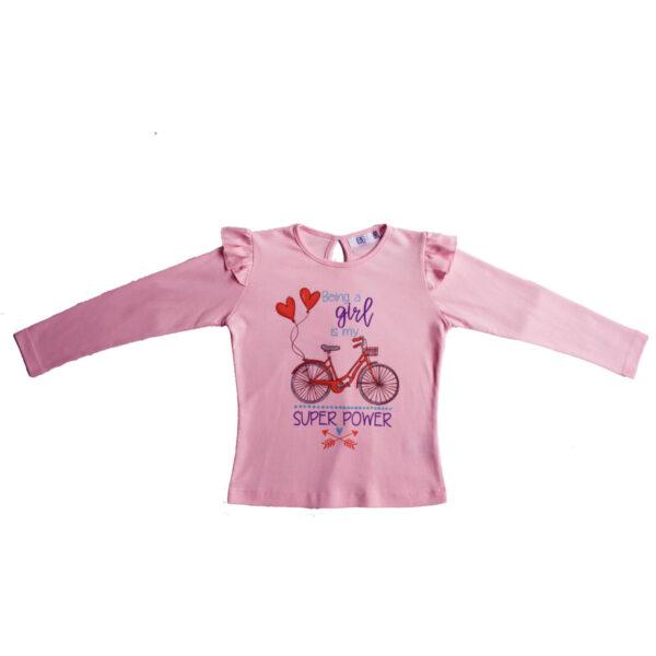 Pink Ruffle Sleeve Top_2