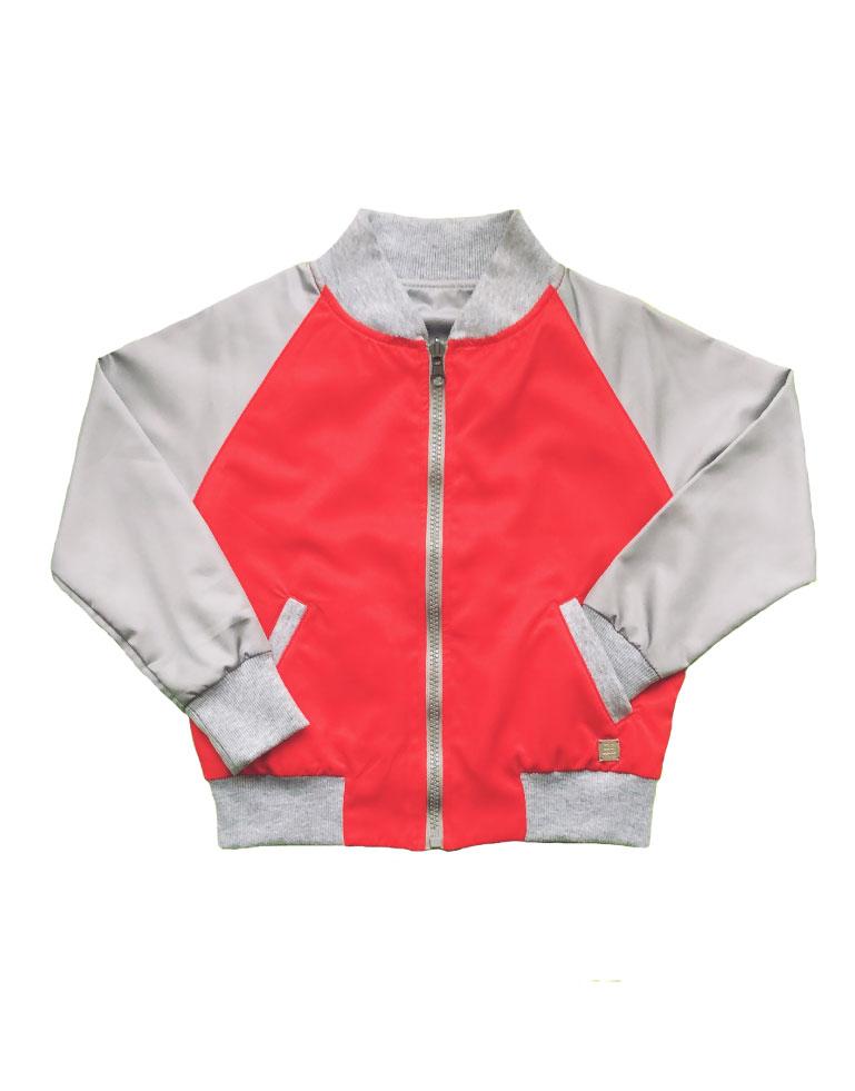 Bomber-roja-y-gris-niño-lado2