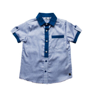 camisa a rayas MC