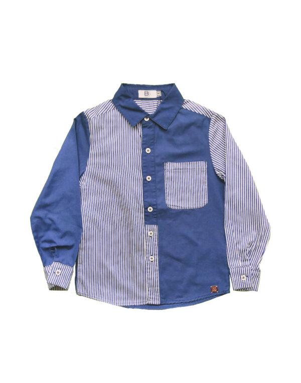 Camisa-rayas-azules-ML