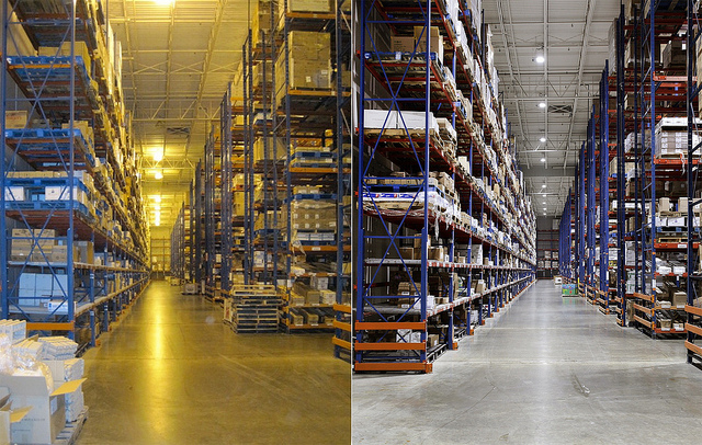 Warehouse-Lighting-with-Intelligent-LED-Solution-Before-and-After