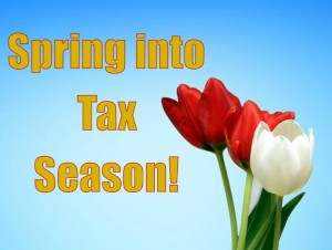 spring into tax season