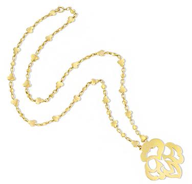 A Gold Pendant Necklace, by Cartier, circa 1970