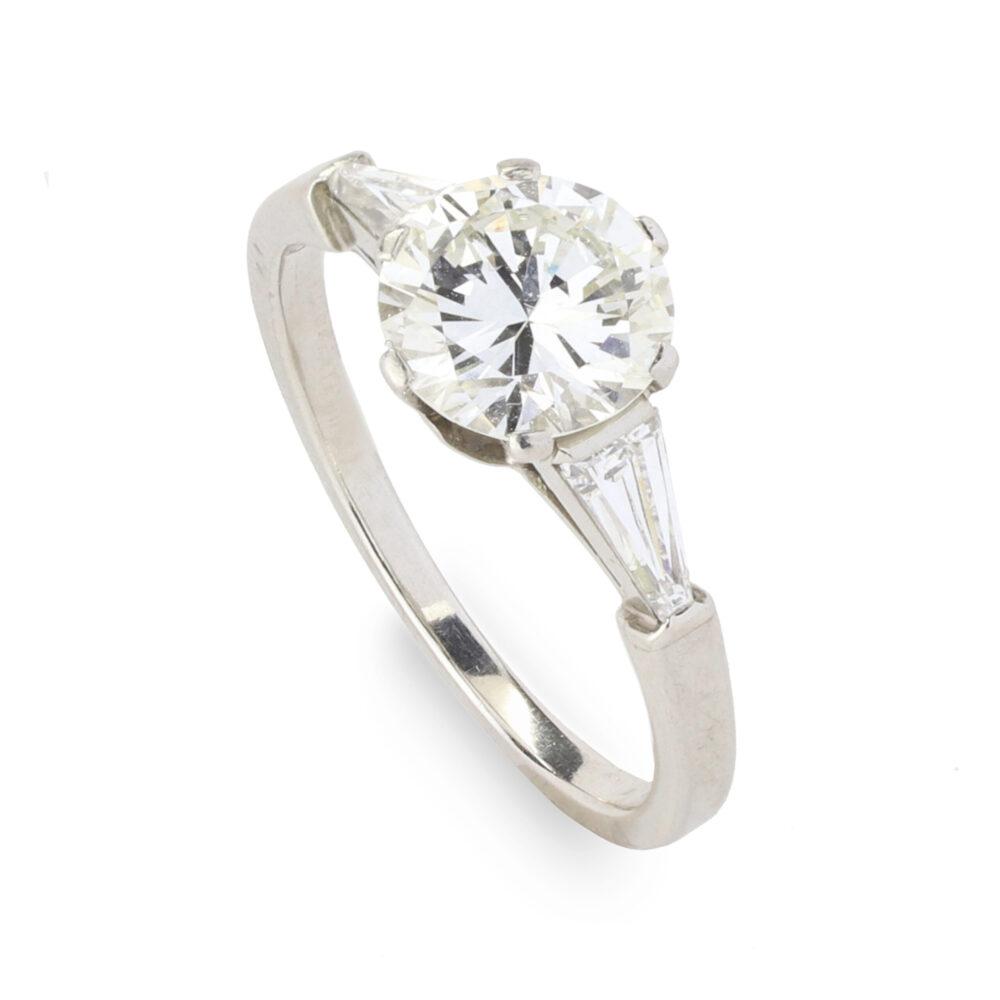 Bulgari Diamond Solitaire Ring