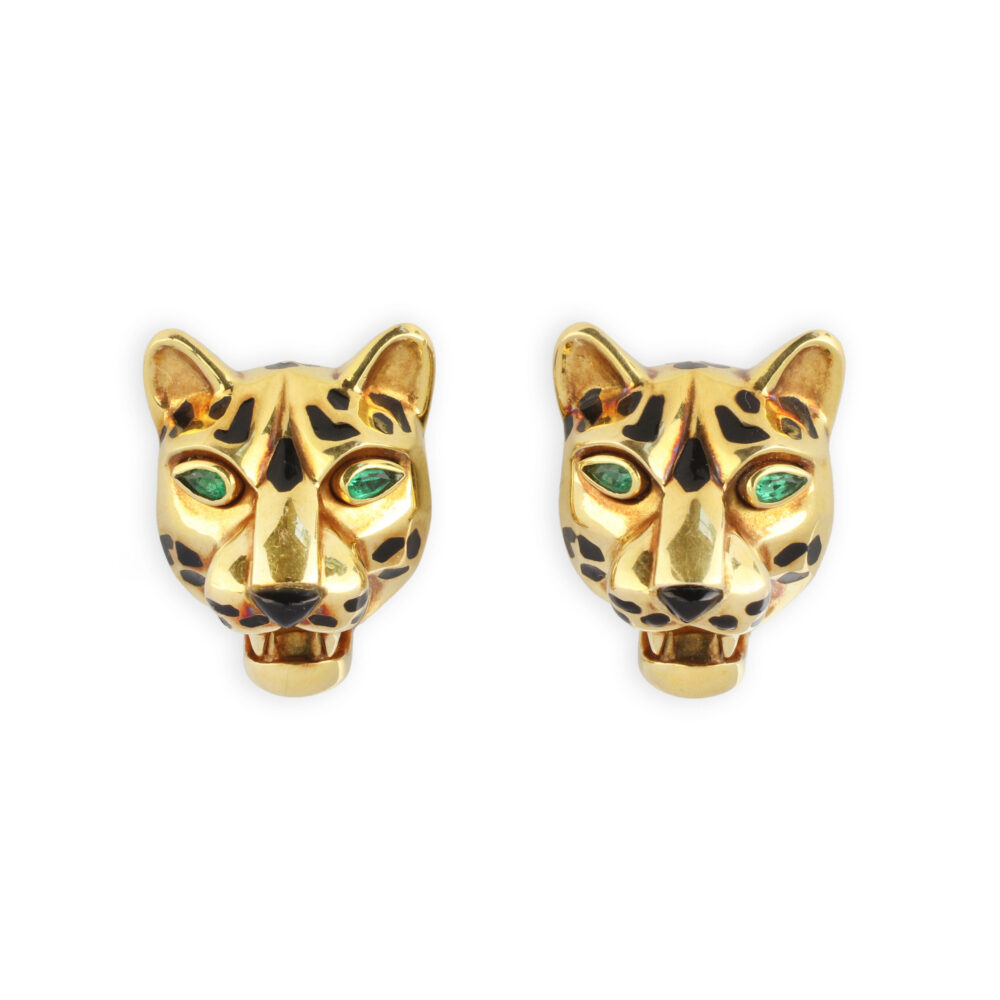 Cartier Panther Ear Clips