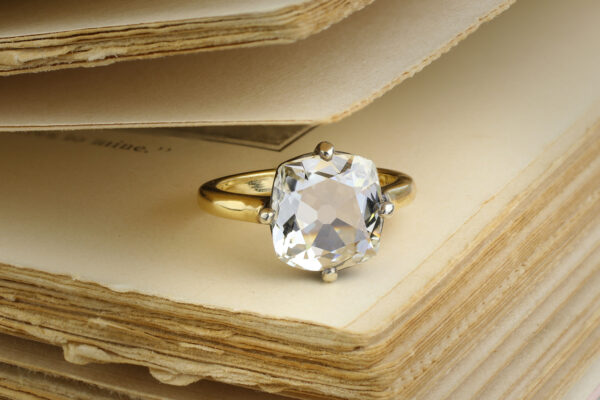 Cushion Cut Diamond Ring