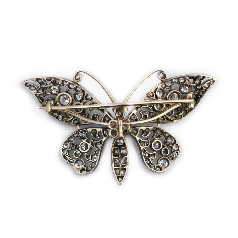 Antique Diamond Set Brooch