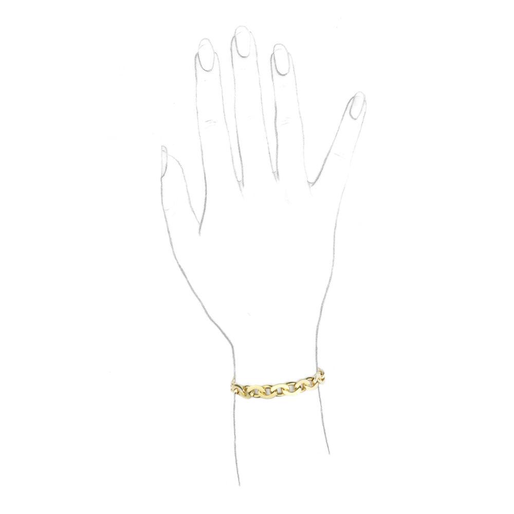 Van Cleef & Arpels Gold Chain Bracelet