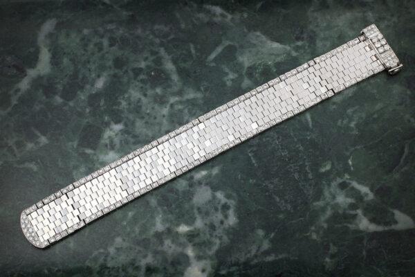Van Cleef & Arpels Mid 20th Century Diamond Set Bracelet