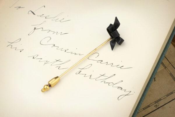 Victorian Bow Stick Pin