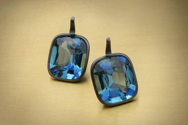 Hemmerle Aquamarine Ear Pendants» Price On Request «