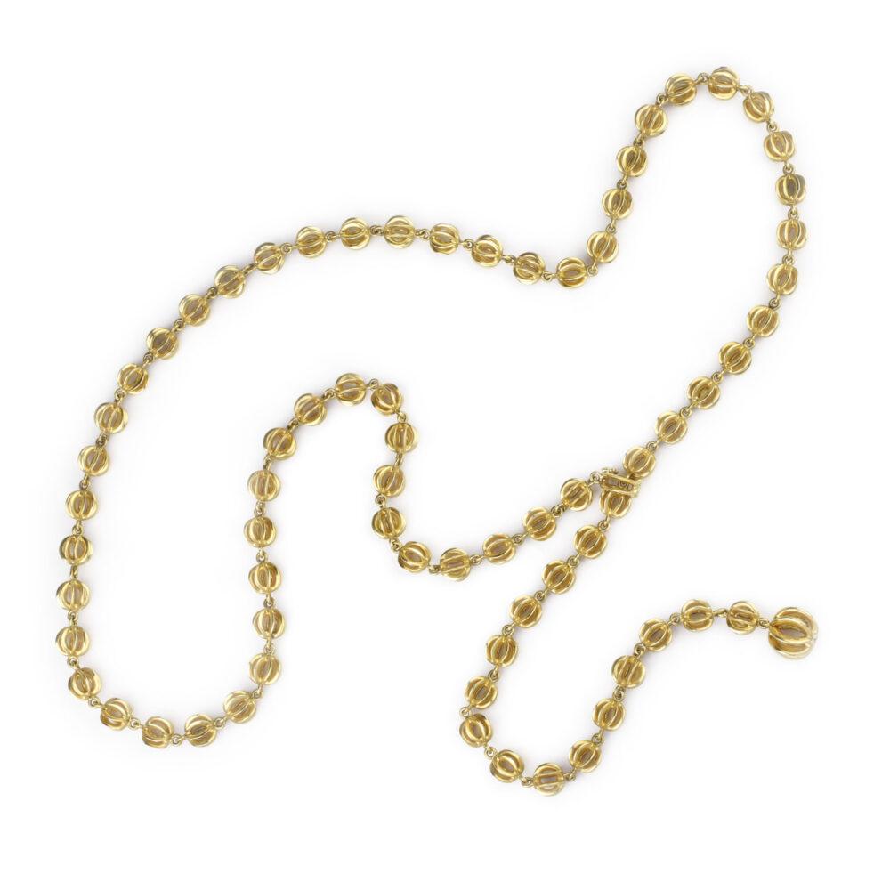 Van Cleef & Arpels Gold Chain Necklace