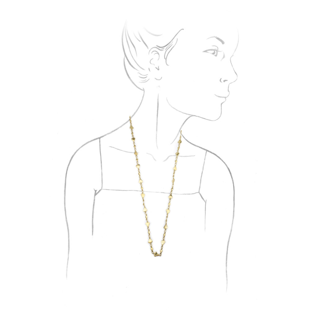 Cartier Fancy Link Yellow Gold Chain Necklace