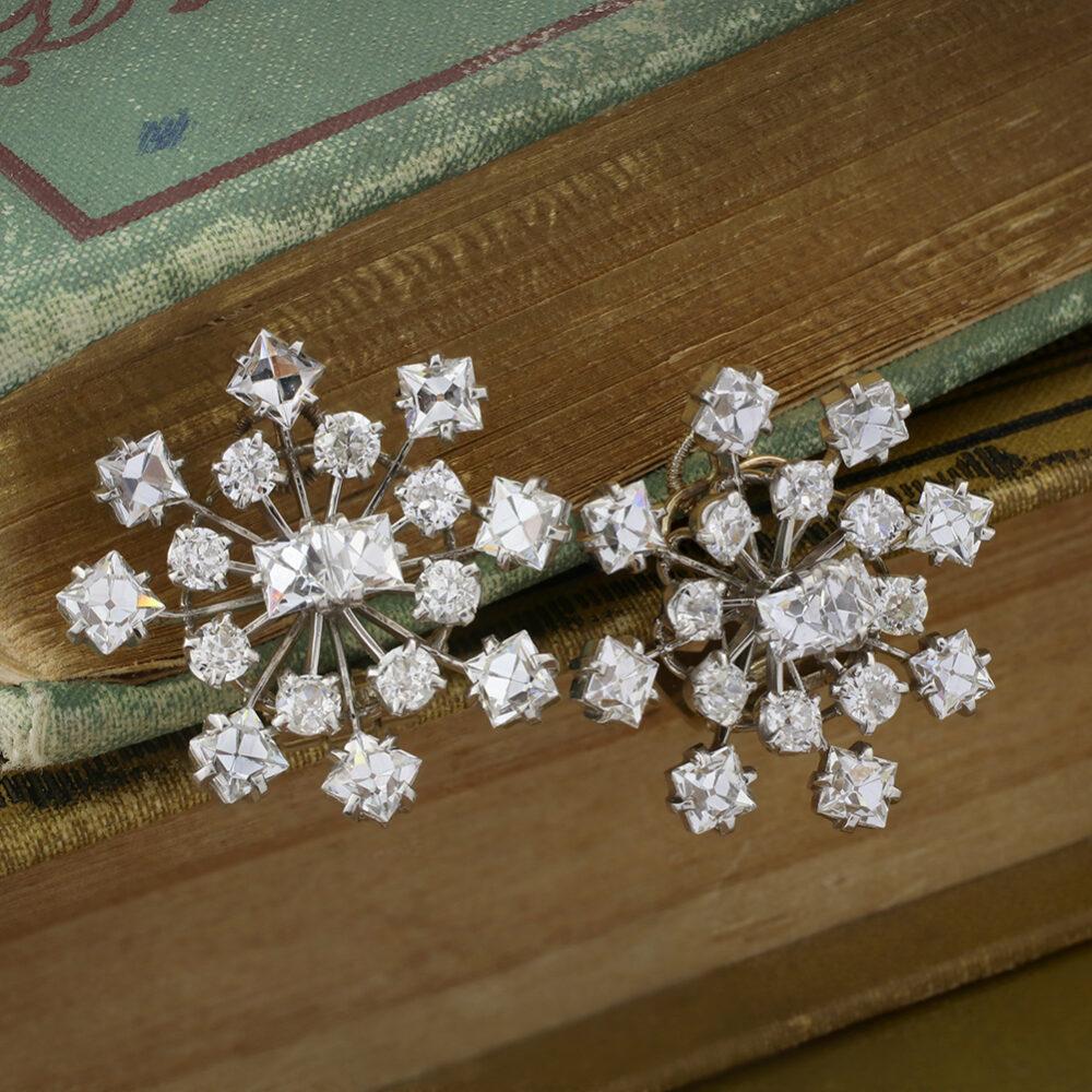 Cartier Diamond Ear Clips