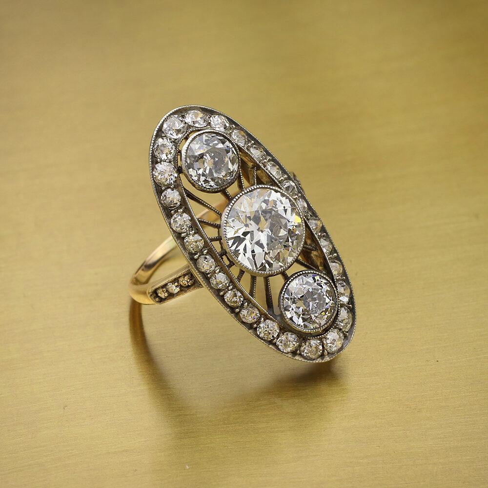 Antique Diamond Set Ring