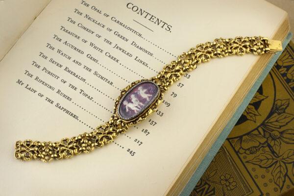 Boucheron, Fernand Paillet Miniature And Gold Bracelet