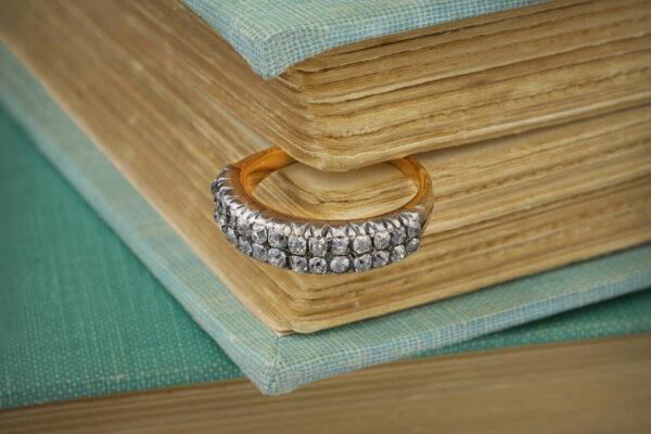Antique Diamond Set Band Ring