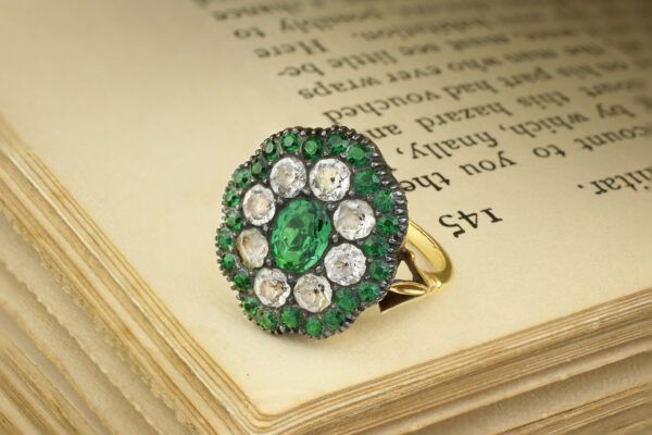Antique Gold And Paste Ring