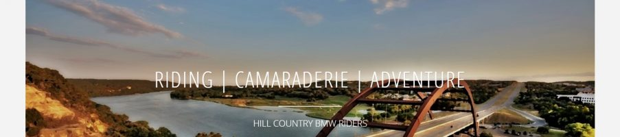 Welcome to the New Home for Hill Country BMW Riders
