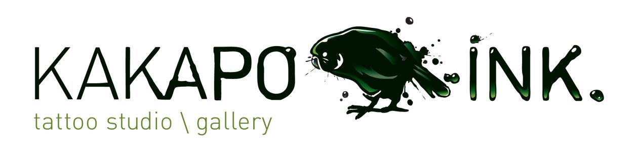Kakapo Ink Tattoo Studio Wellington NZ