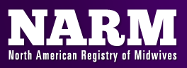 narm north american registry of midwives logo