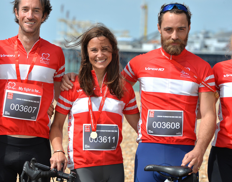 pippa middleton james matthews james middleton london to brighton bike ride