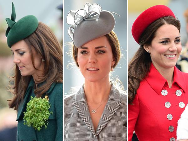 Kate Middleton Hats 2014