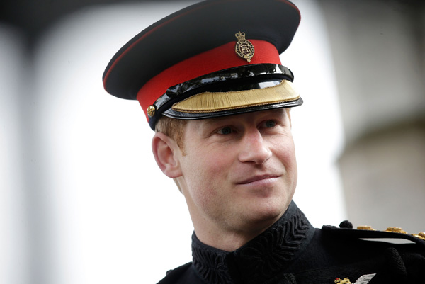 Prince Harry Visits Field Remembrance 2014
