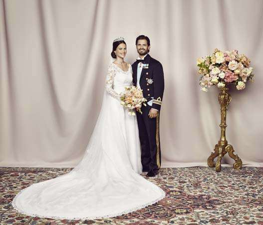 Prince Carl Philip and Miss Sofia Hellqvist Official Photo
