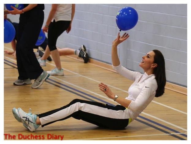 kate middleton tennis coaching workshop scotland ground